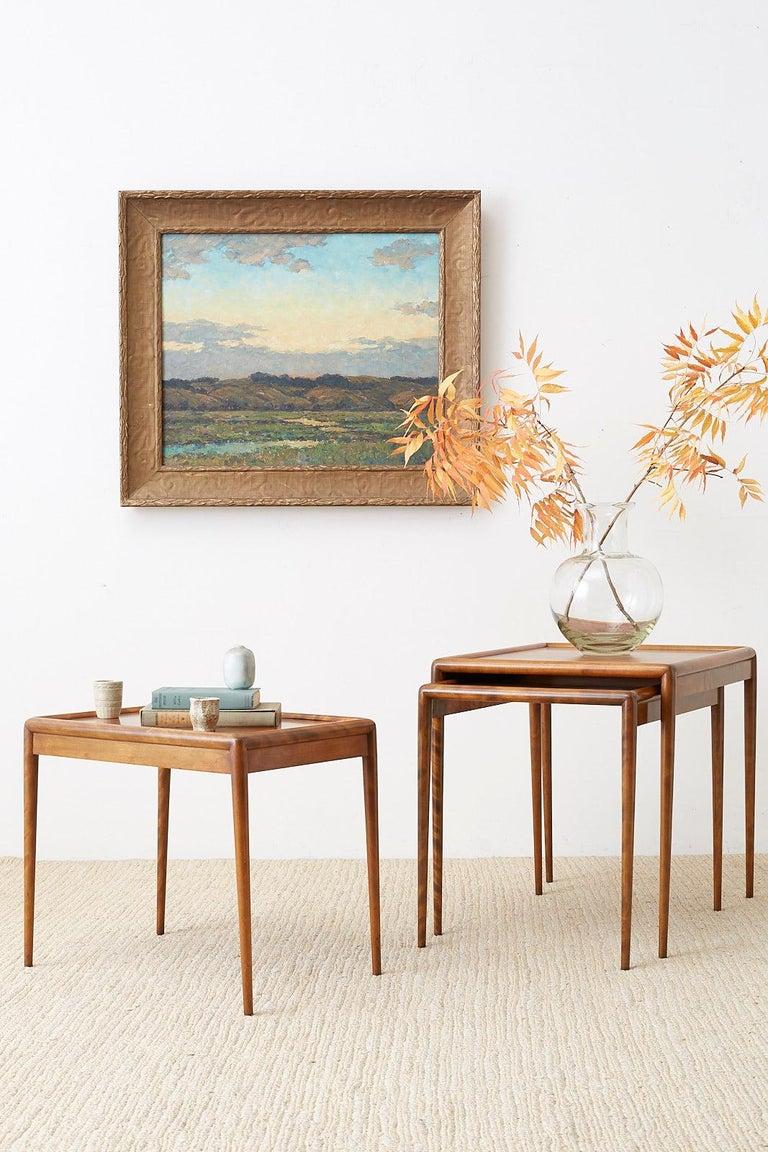 Sunrise Landscape Oil Painting For Sale 9