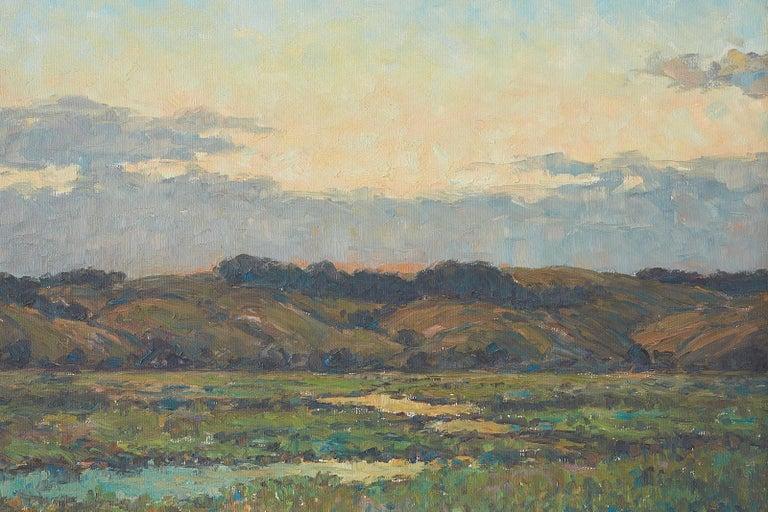 Sunrise Landscape Oil Painting For Sale 10