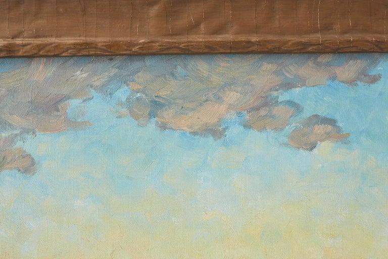 Sunrise Landscape Oil Painting For Sale 11