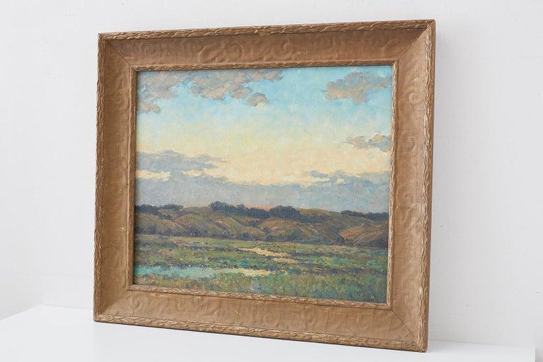 Sunrise Landscape Oil Painting For Sale 13