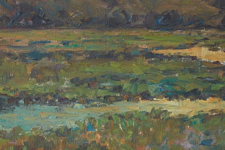 Sunrise Landscape Oil Painting For Sale 15