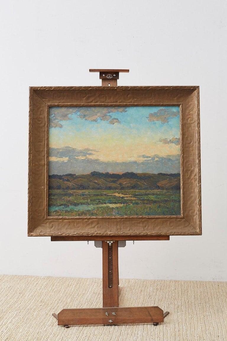 Sunrise Landscape Oil Painting For Sale 1