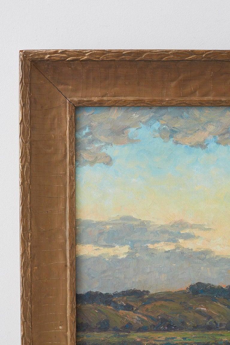Sunrise Landscape Oil Painting For Sale 2