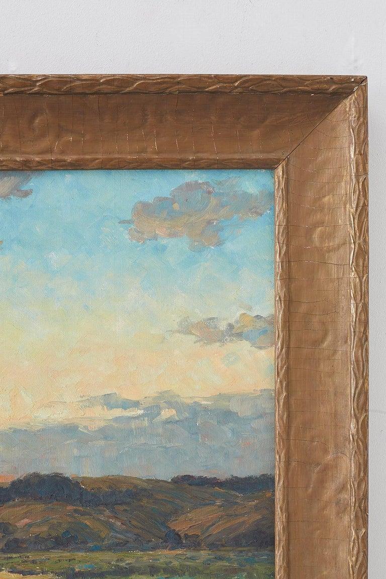 Sunrise Landscape Oil Painting For Sale 3
