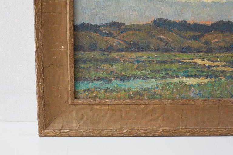 Sunrise Landscape Oil Painting For Sale 4