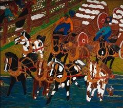 Cotton Wagon Race