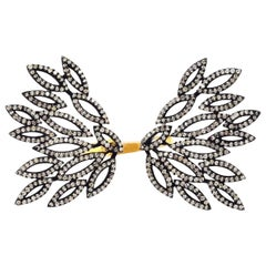 Wing Diamond Open Ring