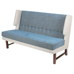Wing Settee in the Manner of Dunbar by Lost City Arts