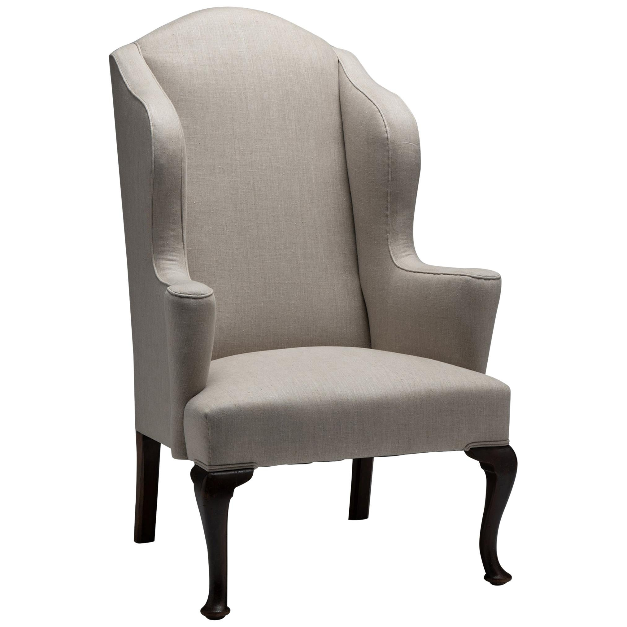 Wingback Armchair, England, Circa 1840
