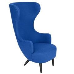 Wingback Chair Black Leg Tonus 4