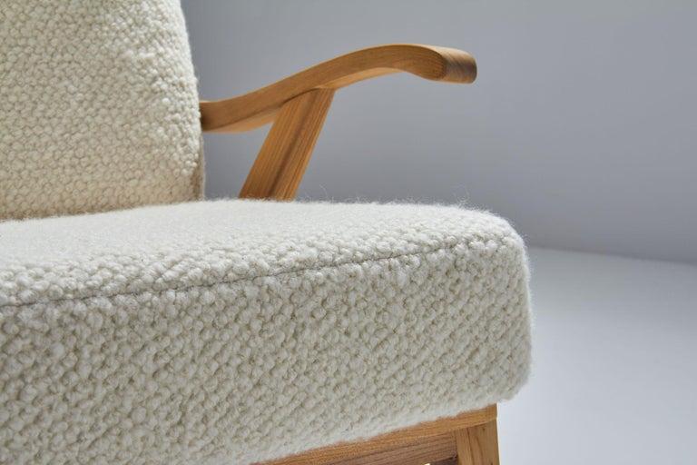 'Wingback' Chair by Danish Cabinetmaker Søren Willadsen, Denmark, 1960s For Sale 5