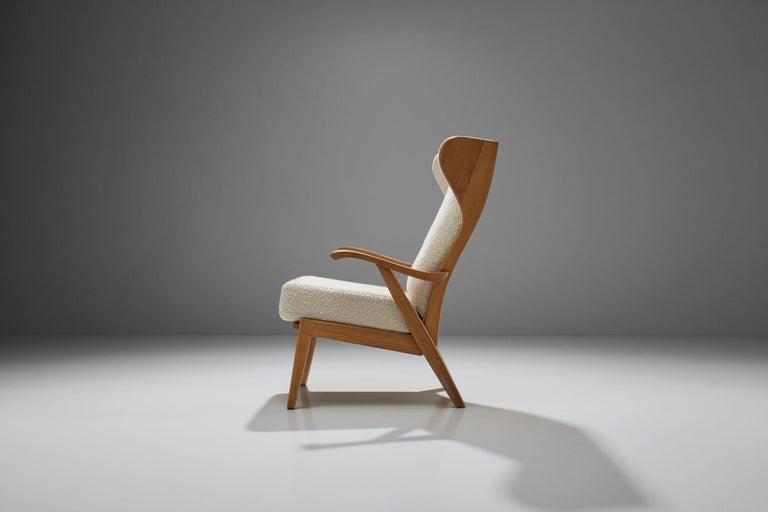 Mid-20th Century 'Wingback' Chair by Danish Cabinetmaker Søren Willadsen, Denmark, 1960s For Sale