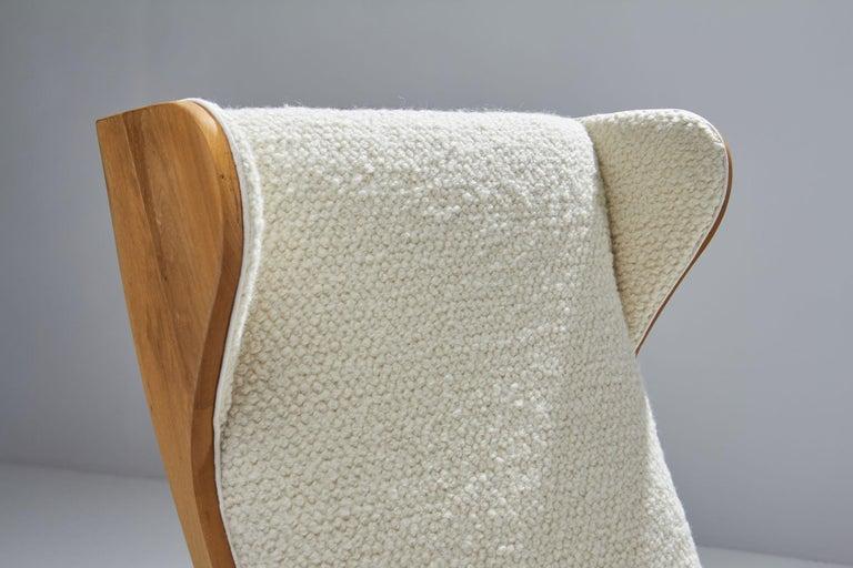 'Wingback' Chair by Danish Cabinetmaker Søren Willadsen, Denmark, 1960s For Sale 2