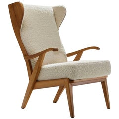 'Wingback' Chair by Danish Cabinetmaker Søren Willadsen, Denmark, 1960s