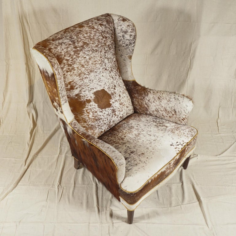 Wingback Chair by Frits Henningsen For Sale 3