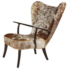 Wingback Chair by Madsen & Schubell