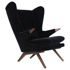 Wingback Chair Model 91 by Svend Skipper, Denmark, 1950s