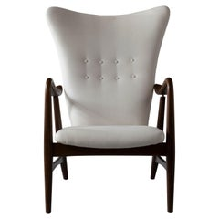 Wingback Lounge Chair by Schubell & Madsen, Denmark, 1950s
