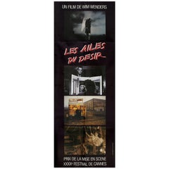 Wings of Desire 1988 French Pantalon Film Poster