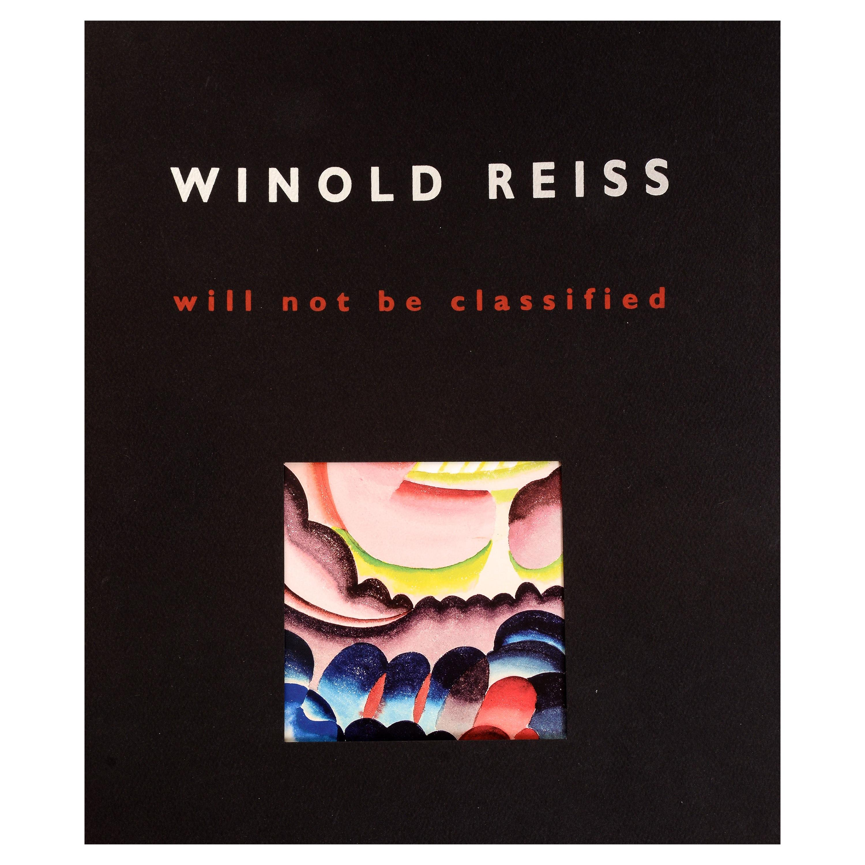 Winold Reiss, Will Not Be Classified April 12-May 25 2018