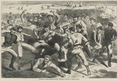 """Holiday in Camp -- Soldiers Playing """"Foot-Ball"""""""