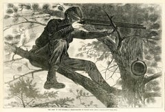 The Army of the Potomac-A Sharp Shooter on Picket Duty