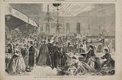 THE GREAT FAIR GIVEN AT THE CITY ASSEMBLY ROOMS, NEW YORK, DECEMBER, 1861