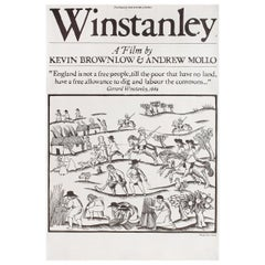 Winstanley 1975 British Double Crown Film Poster