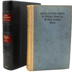 """Winston Churchill's Personal Copy of """"India Under Ripon"""" First Edition, 1909"""