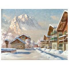 """""""Winter in Garmisch"""" by Erwin Kettemann"""