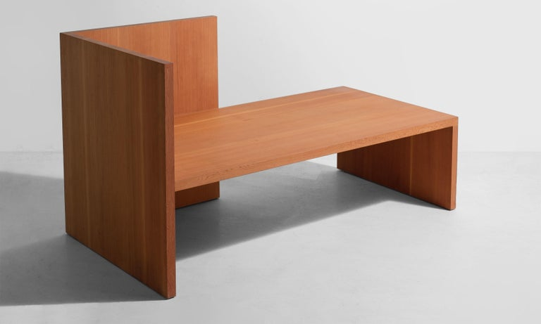 Wintergarden Bench by Donald Judd, America 21st century.