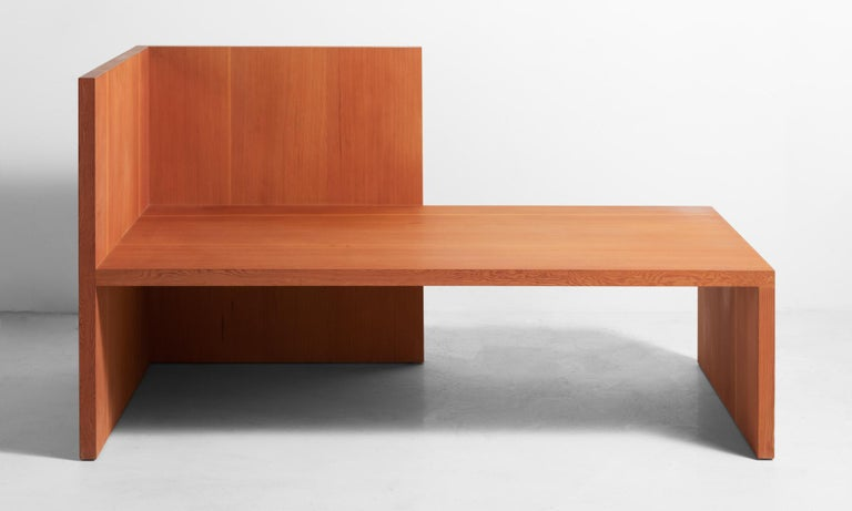 American Wintergarden Bench by Donald Judd, America 21st Century For Sale