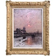 """""""Winters Glow"""" by Johann Jungblut"""