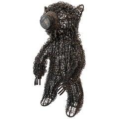 Wire Bear Sculpture