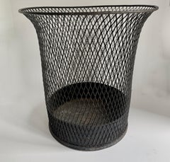 Wire Braided Mesh Waste Can