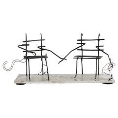 Wire Sculpture, Apprivoise-Moi