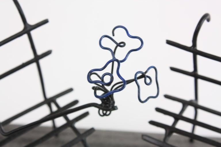Hammered Wire Sculpture, Premier Rendez-Vous For Sale