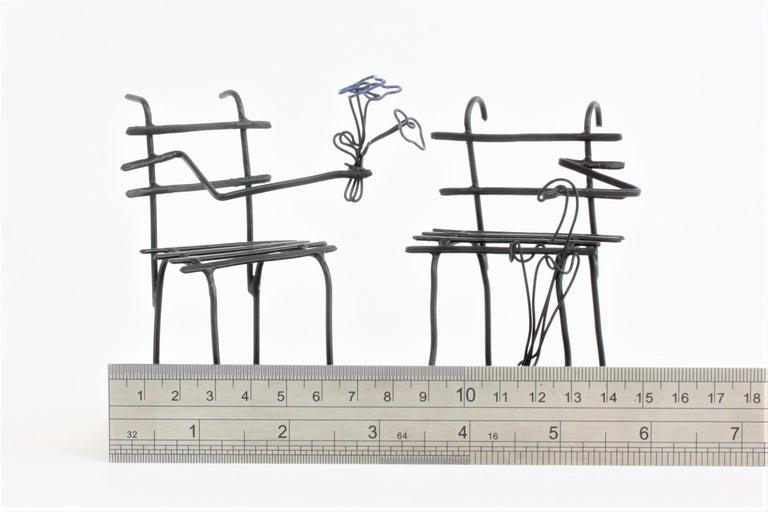 Wire Sculpture, Premier Rendez-Vous For Sale 1