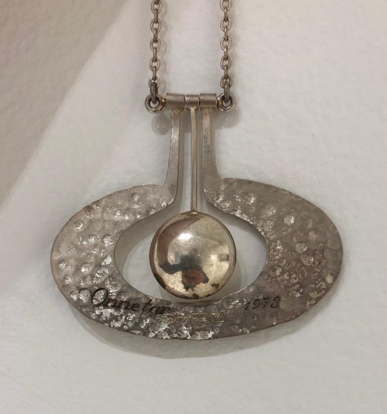 Wirkkala Omena Necklace In Good Condition For Sale In Hudson, NY