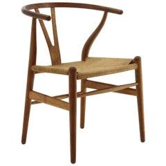 'Wishbone' Chair in Durmast by Hans Wegner for Carl Hansen & Søn, 1960s