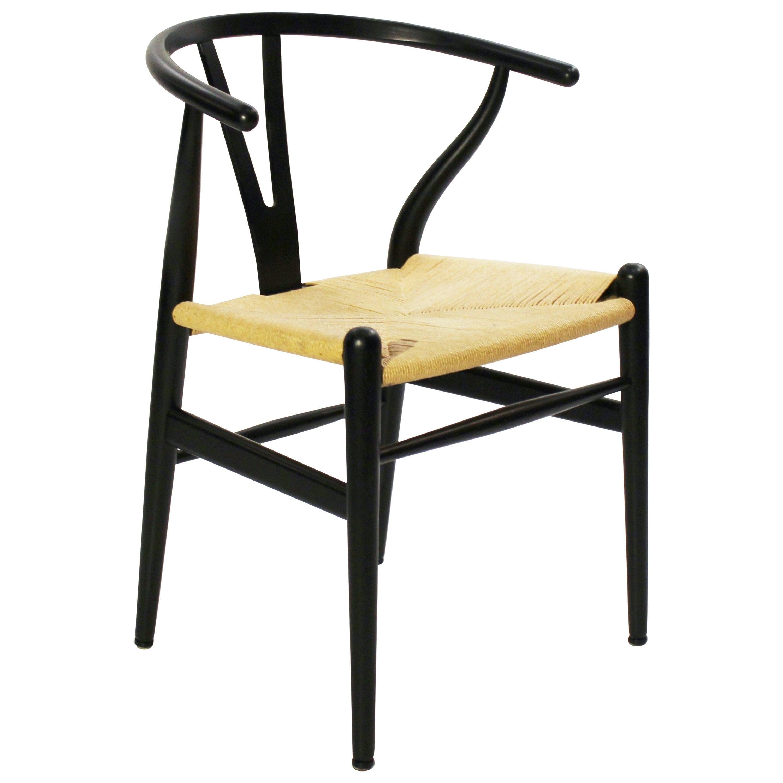 Wishbone Chair, Model CH24, by Hans J. Wegner