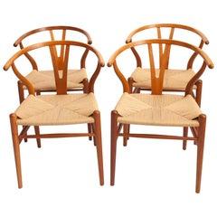 Wishbone Chairs by Hans J. Wegner