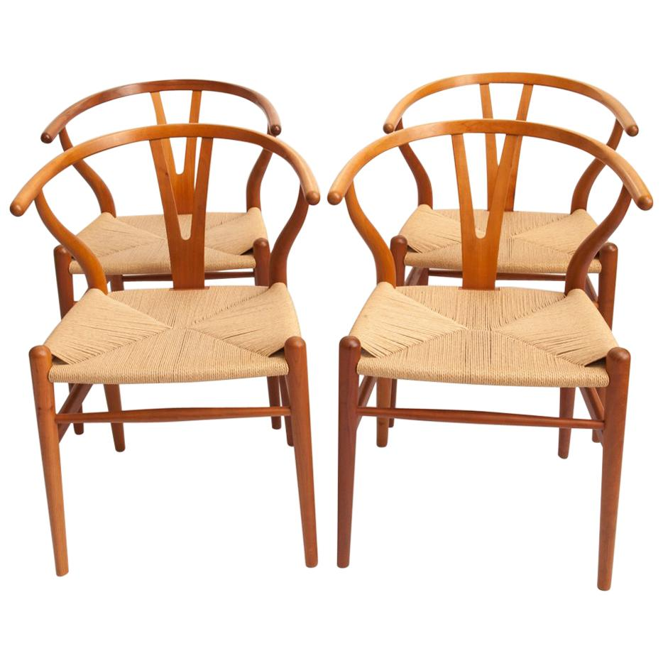 Wishbone Chairs By Hans J. Wegner