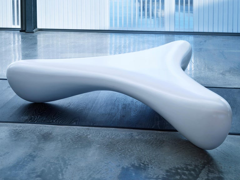 Australian Wishbone, Outdoor and Indoor Sculptural Bench Seat by Brodie Neill For Sale