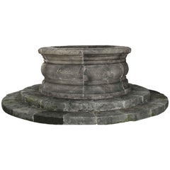 Wishing-Well Handcrafted in Stone with Tradition, Late 1900s, Italy
