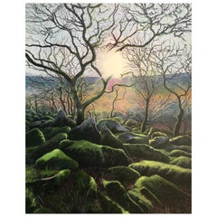 Wistman's Wood Contemporary Landscape Painting
