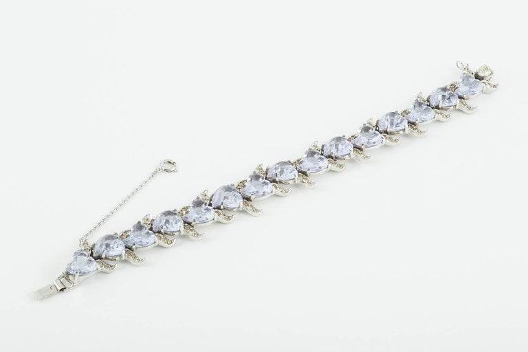 'Witch's heart' parure, Christian Dior by Mitchel Maer, England, early 1950s For Sale 11