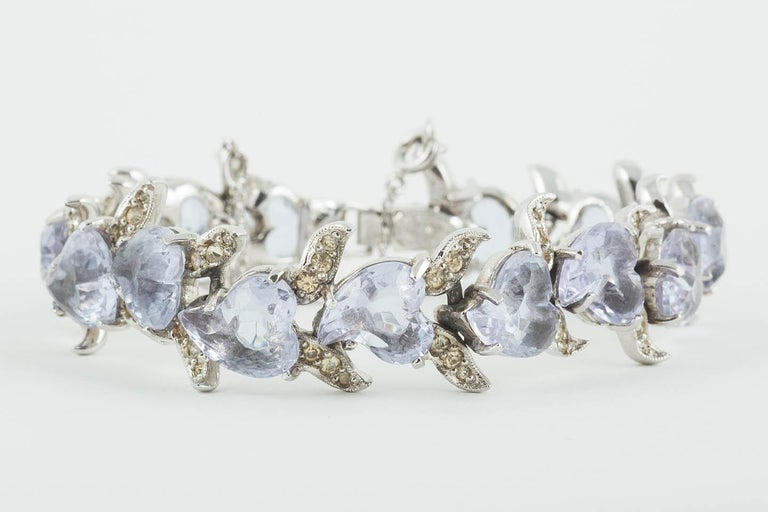 'Witch's heart' parure, Christian Dior by Mitchel Maer, England, early 1950s For Sale 13