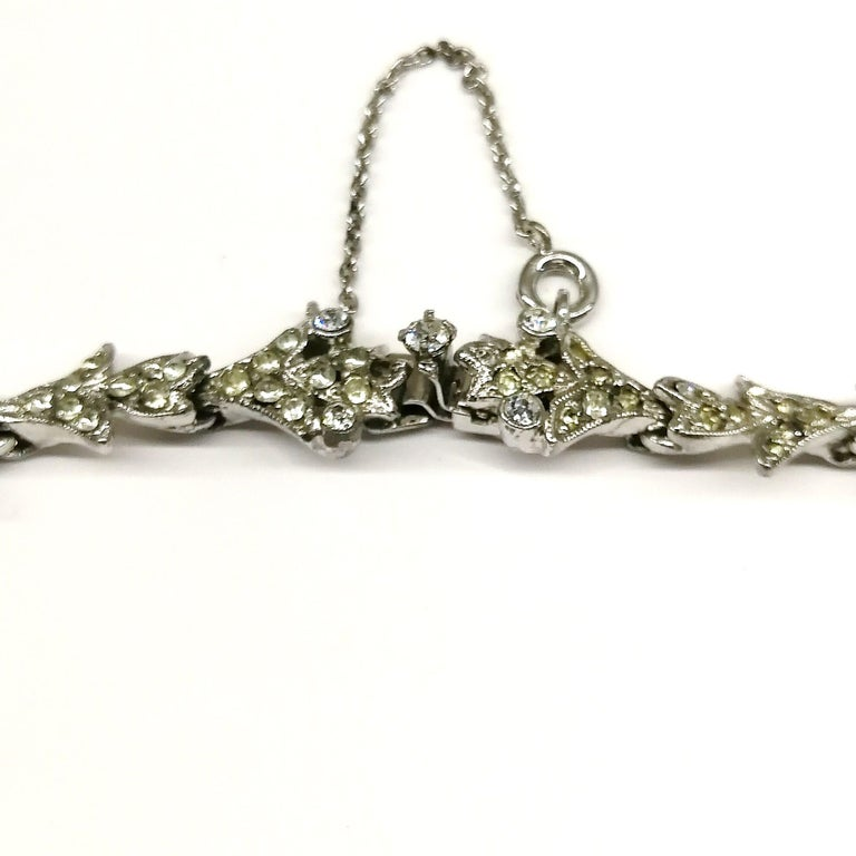 'Witch's heart' parure, Christian Dior by Mitchel Maer, England, early 1950s For Sale 2
