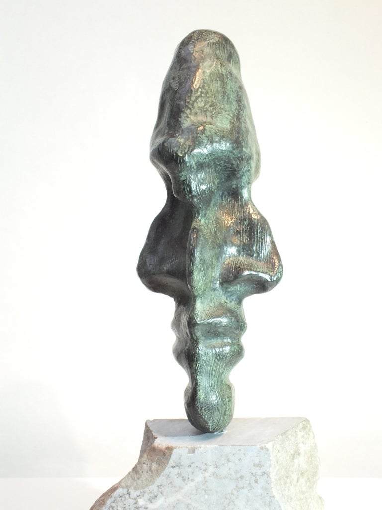 Contemporary Witness, Bronze Sculpture For Sale